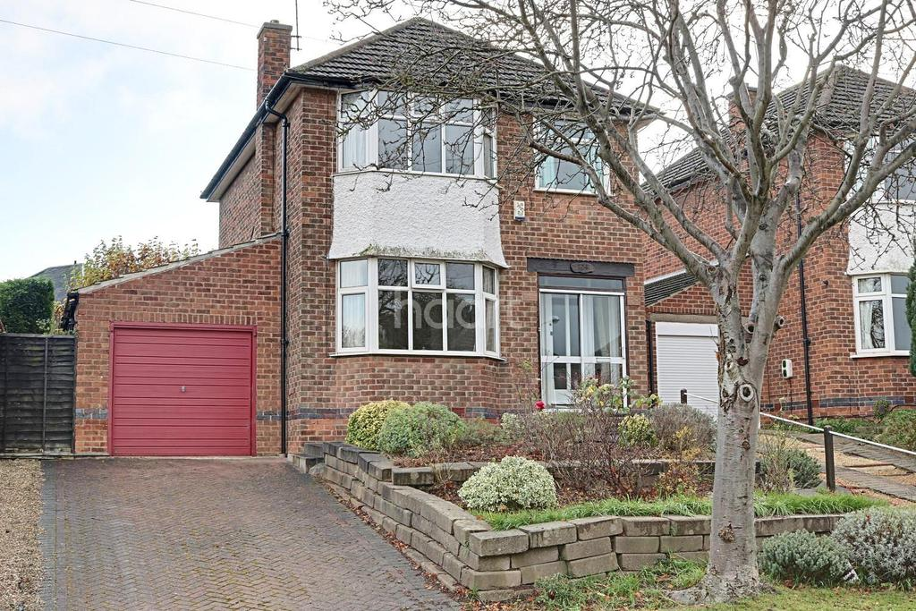 3 Bedrooms Detached House for sale in Greythorn Drive, West Bridgford, Nottinghamshire
