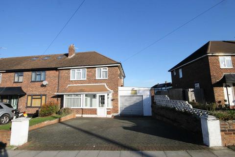 3 bedroom end of terrace house to rent - Tudor Drive, Morden