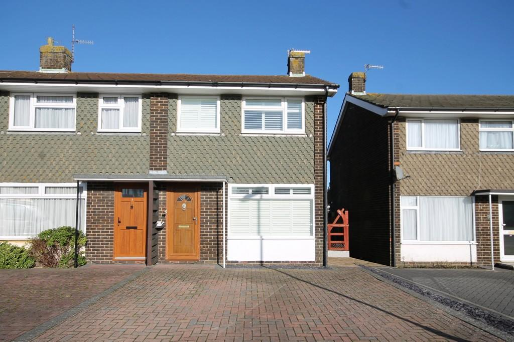 2 Bedrooms End Of Terrace House for sale in Garden Close, Sompting