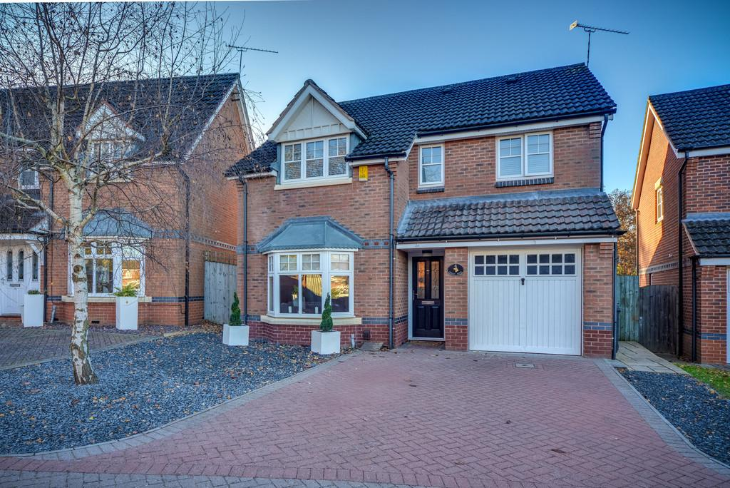 4 Bedrooms Detached House for sale in Jackson Grove, Kenilworth