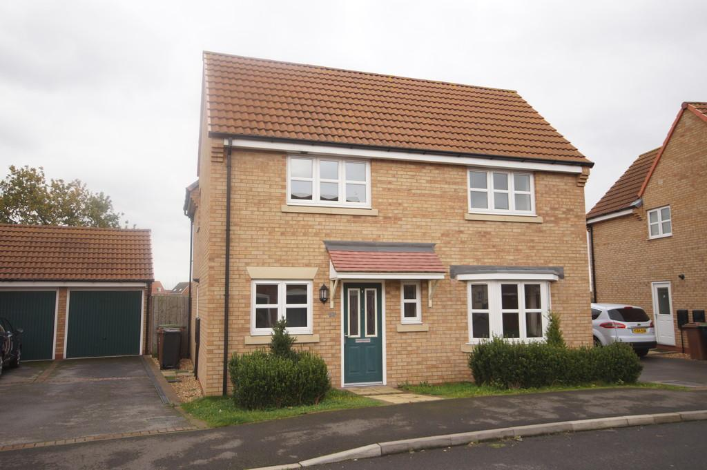 4 Bedrooms Detached House for sale in Maximus Road, North Hykeham