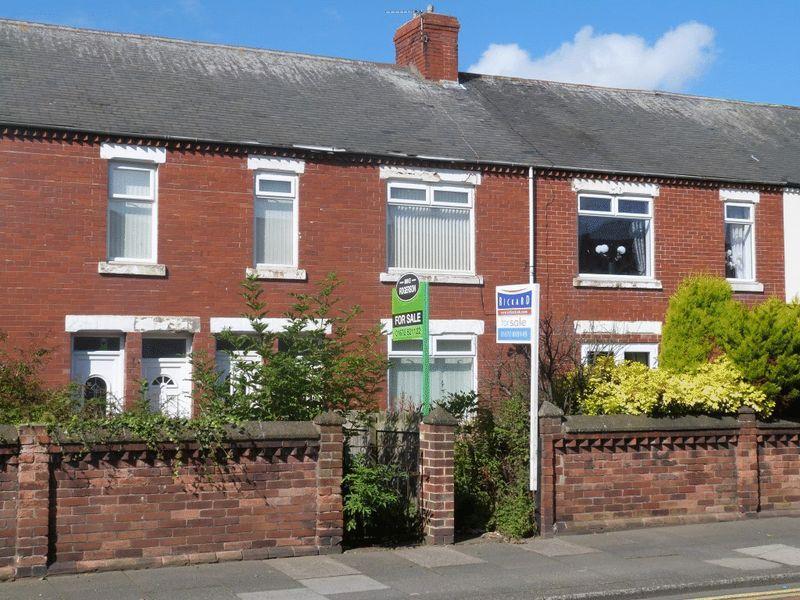 2 Bedrooms Flat for sale in Hawthorn Road, Ashington, Two Bedroom Ground Floor Flat.