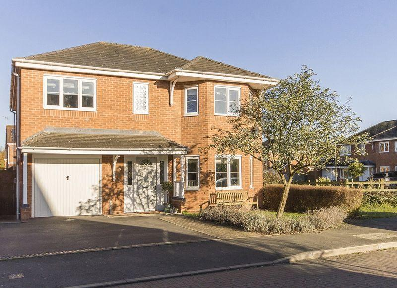 4 Bedrooms Detached House for sale in OLD STATION CLOSE, ETWALL
