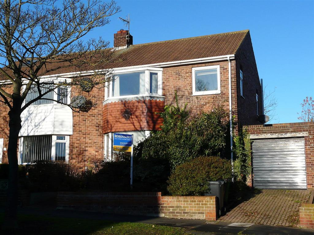3 Bedrooms Semi Detached House for sale in King Oswy Drive, Hart Station, Hartlepool