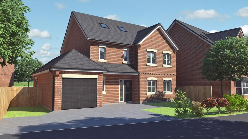 4 Bedrooms Detached House for sale in Winney Hill View, Ellesmere Road, Shrewsbury