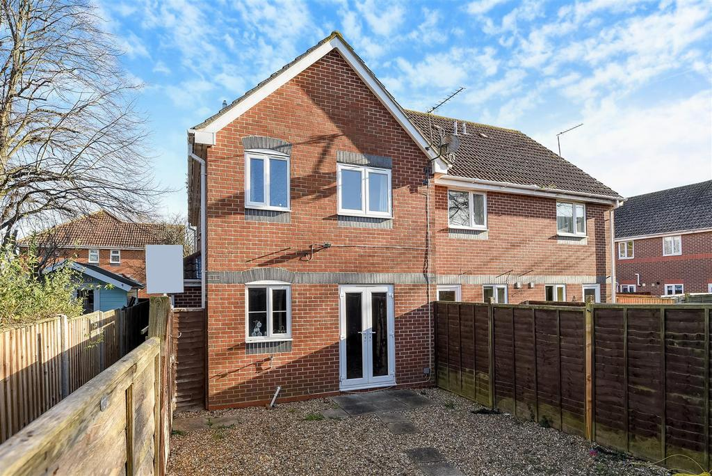 1 Bedroom End Of Terrace House for sale in Churchwood Drive, Tangmere