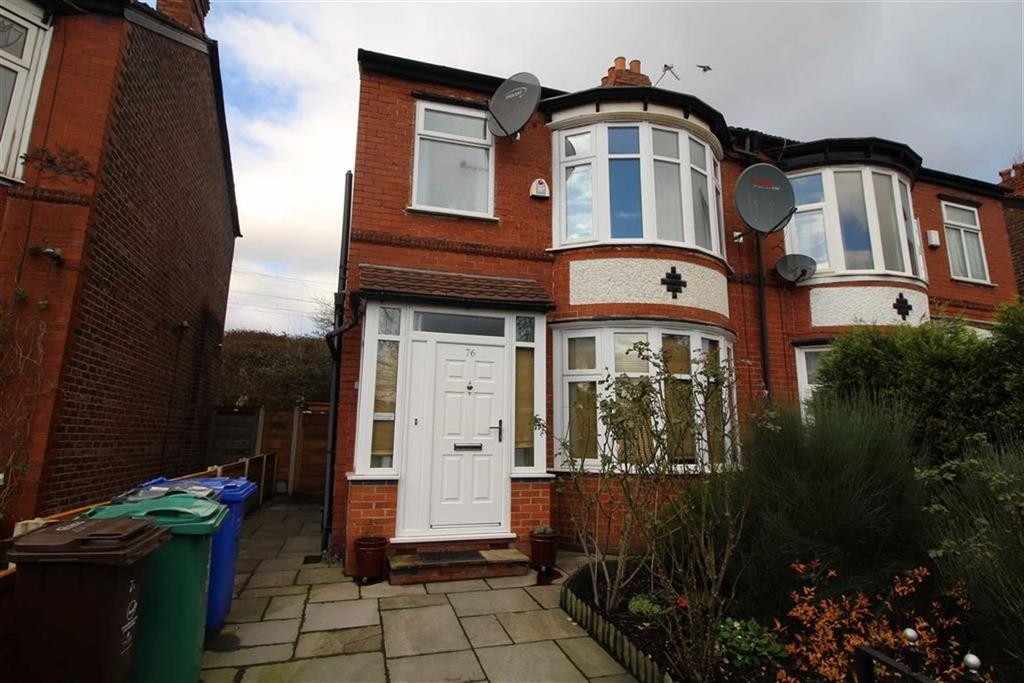 3 Bedrooms Semi Detached House for sale in Kingsway, Levenshulme, Manchester