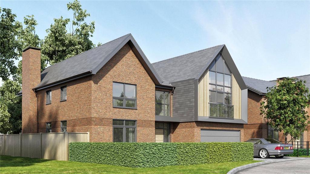5 Bedrooms Detached House for sale in Trent At Upper Longcross, Chobham Lane, KT16