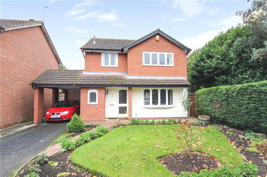 3 Bedrooms Detached House for sale in Foxglove Road, Worcester, Worcestershire, WR5
