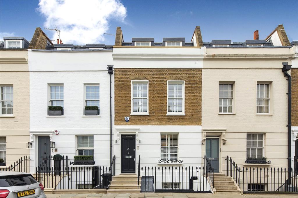 3 Bedrooms Terraced House for sale in Hasker Street, London