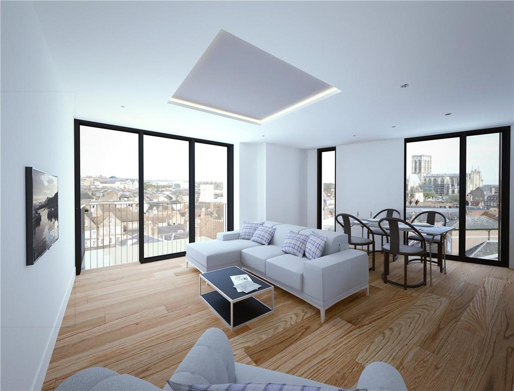2 Bedrooms Apartment Flat for sale in The Stonebow, York, YO1