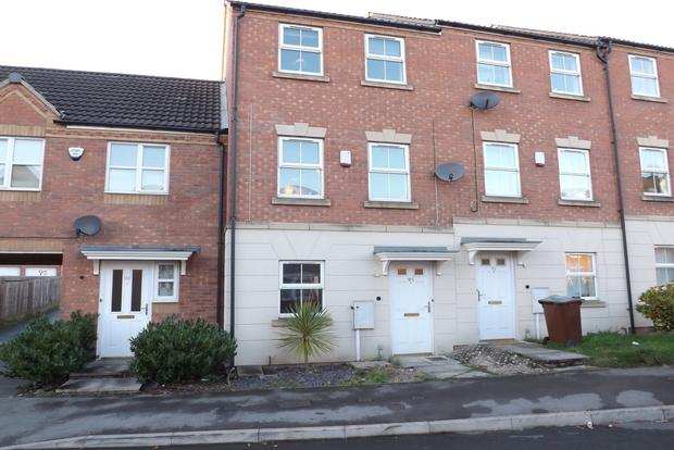 3 Bedrooms Town House for sale in Pavior Road, Bestwood, Nottingham, NG5