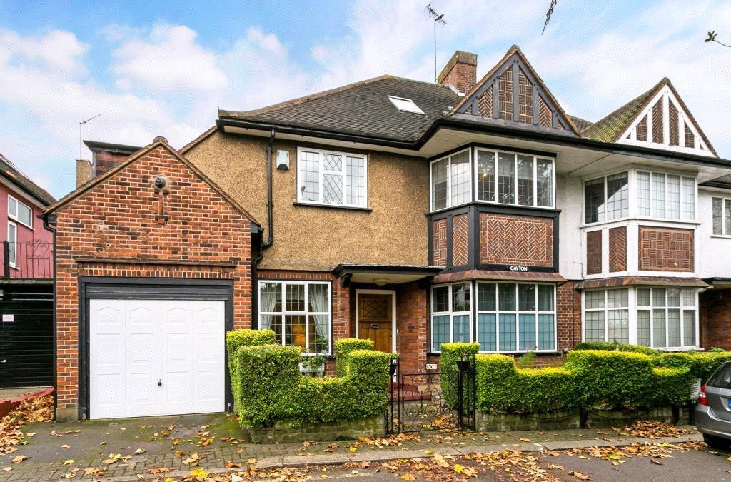 5 Bedrooms Detached House for sale in Finchley Road, London, NW11