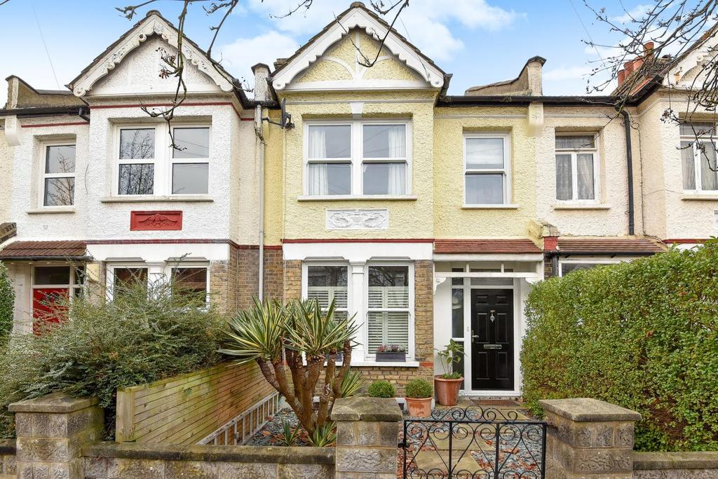 3 Bedrooms Terraced House for sale in Prince Georges Avenue, Raynes Park