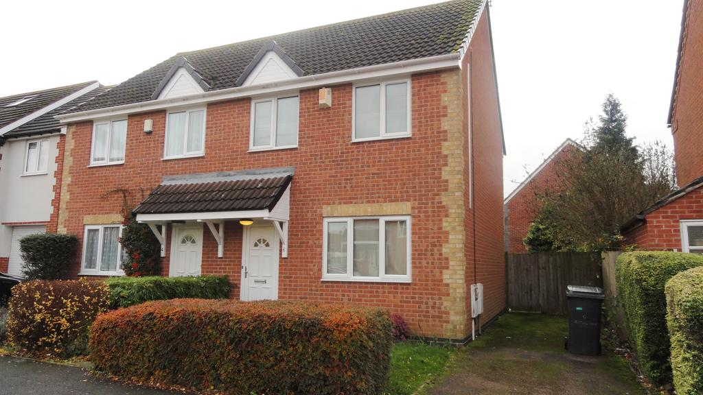 3 Bedrooms Semi Detached House for rent in Trefoil Close, Leicester LE5