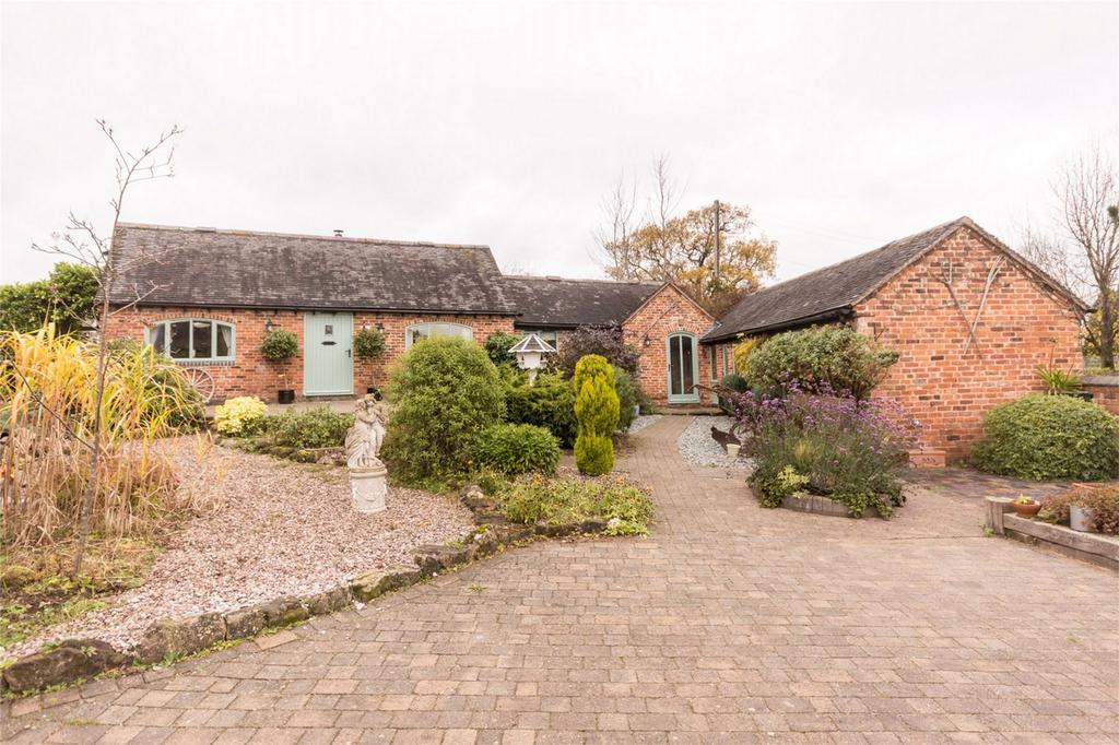 3 Bedrooms Barn Conversion Character Property for sale in Tithe Barn Lane, Longdon, Rugeley, Staffordshire