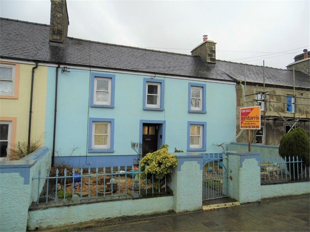 3 Bedrooms Terraced House for sale in 6 Upper Terrace, Letterston, Haverfordwest, Pembrokeshire