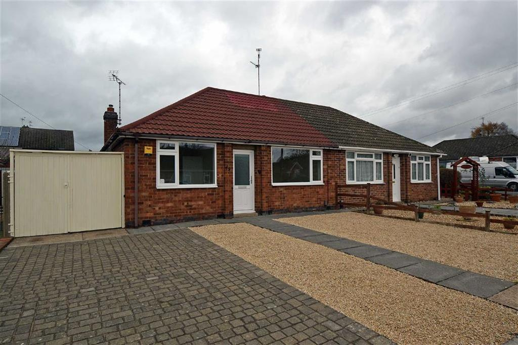 2 Bedrooms Semi Detached Bungalow for sale in Alexandra Street, Thurmaston