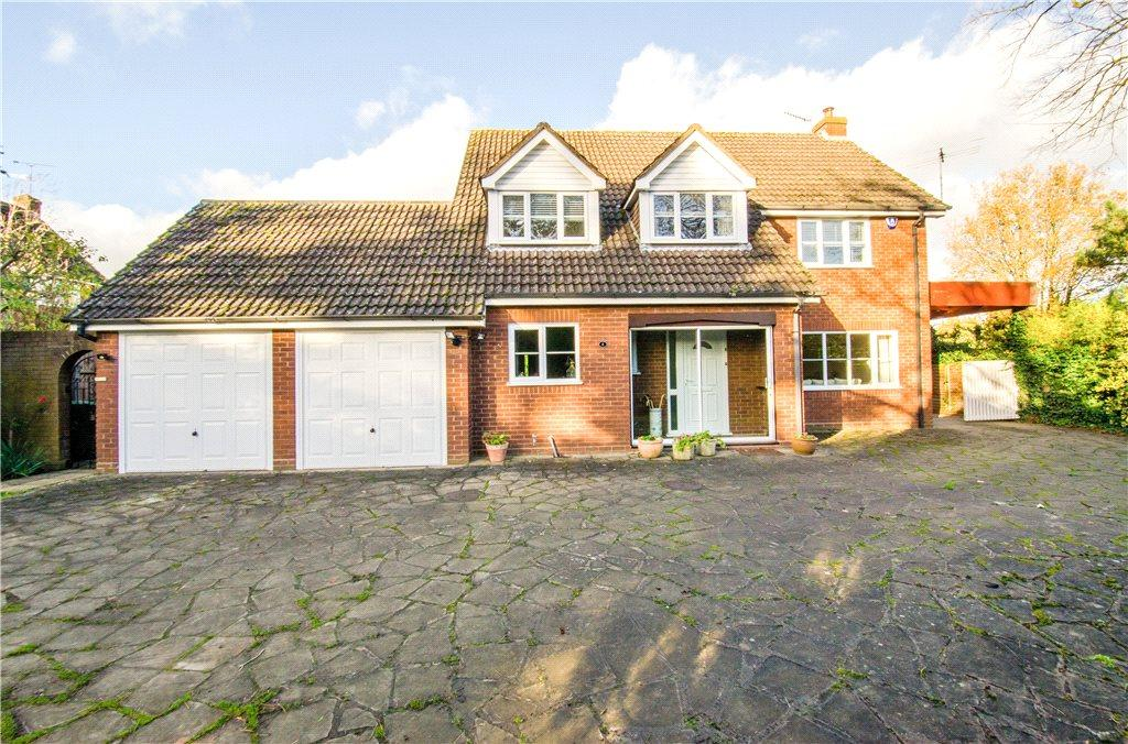 4 Bedrooms Detached House for sale in Link Elm Close, Worcester, Worcestershire, WR2