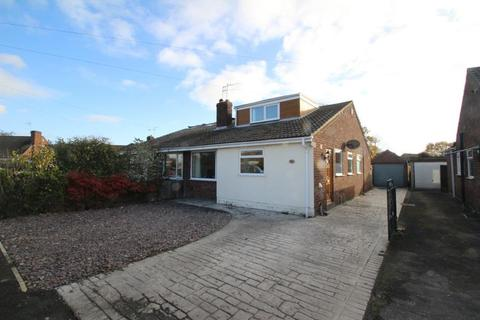 3 bedroom semi-detached bungalow for sale - BORROWDALE DRIVE, YORK, YO30 5SX