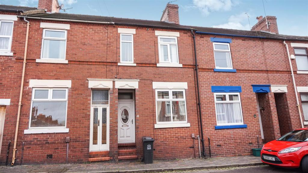 2 Bedrooms Terraced House for sale in Hill Street, Newcastle Under Lyme,Staffs
