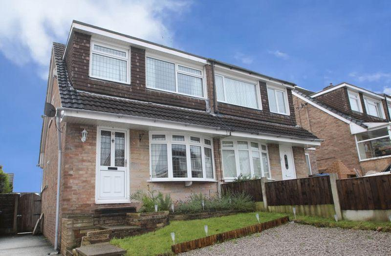 3 Bedrooms Semi Detached House for sale in Westfield Close, Norden, Rochdale OL11 5XB