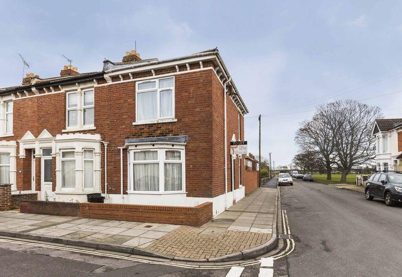 2 Bedrooms End Of Terrace House for sale in Tranmere Road, Southsea