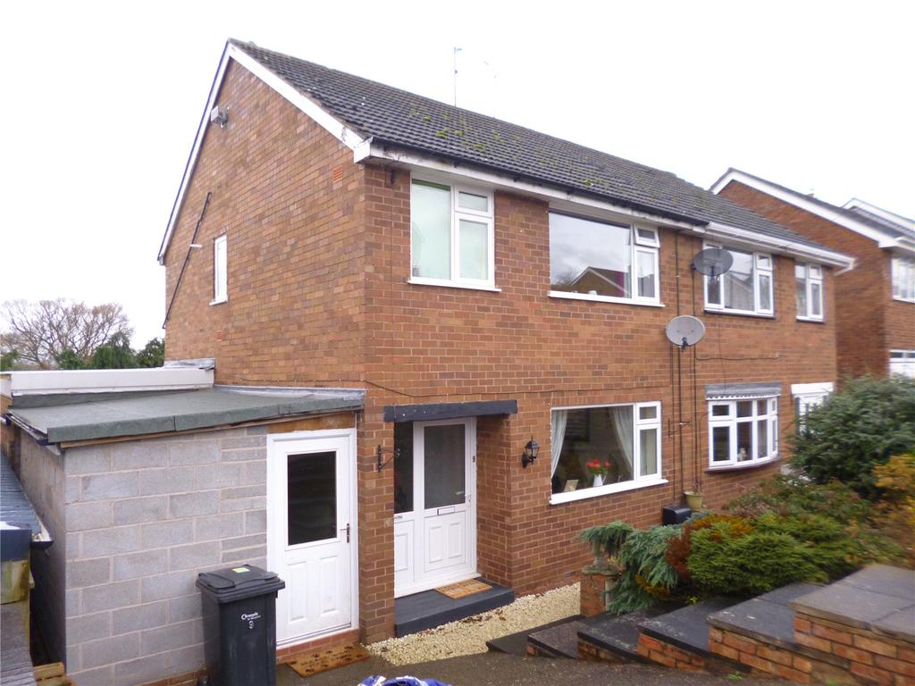 3 Bedrooms Semi Detached House for sale in Hazelwells Road, Highley, Bridgnorth, Shropshire