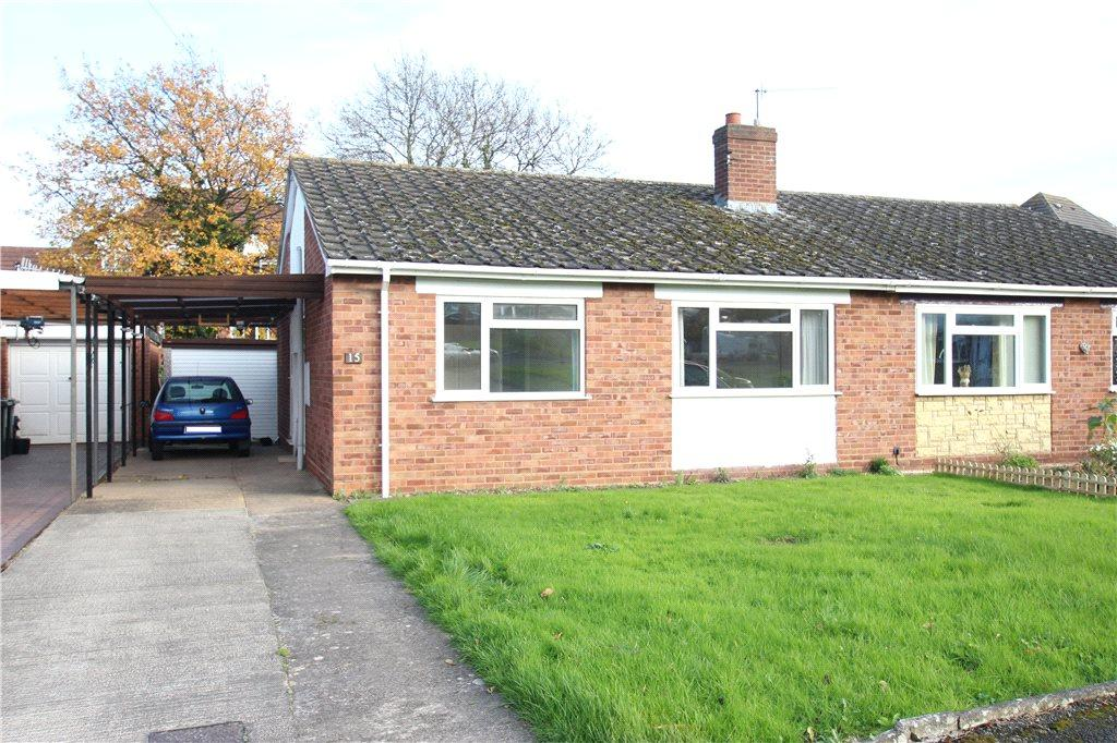 2 Bedrooms Semi Detached Bungalow for sale in Meadway, Malvern, Worcestershire, WR14