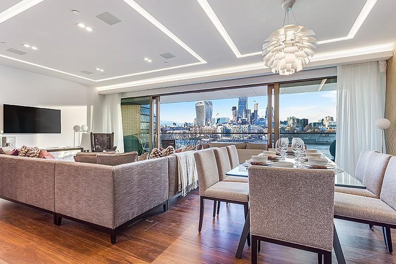 3 Bedrooms Flat for rent in Blenheim House, Duchess Walk, Tower Bridge, London, SE1