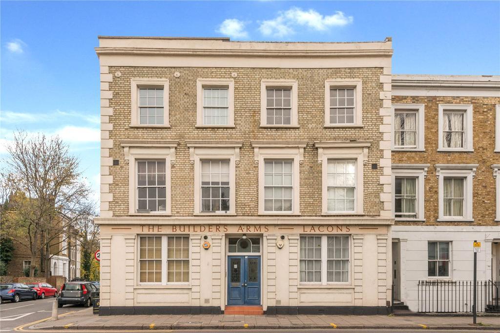 2 Bedrooms Flat for sale in St Pauls Road, Islington, London