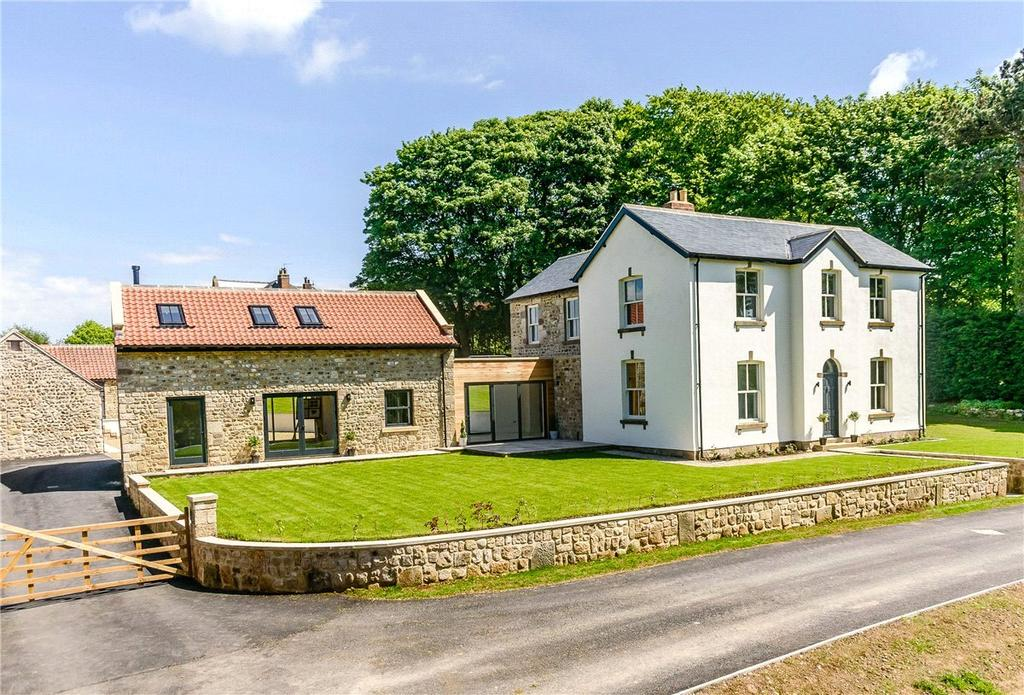 5 Bedrooms Detached House for sale in Church Farmhouse, South Stainley, Near Harrogate, North Yorkshire, HG3