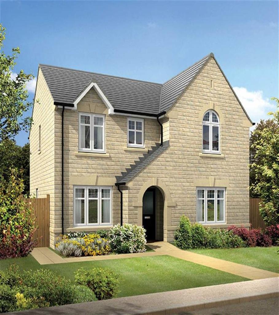 4 Bedrooms Detached House for sale in Moorbank Lea, Green Lane, Shelf, Halifax, HX3