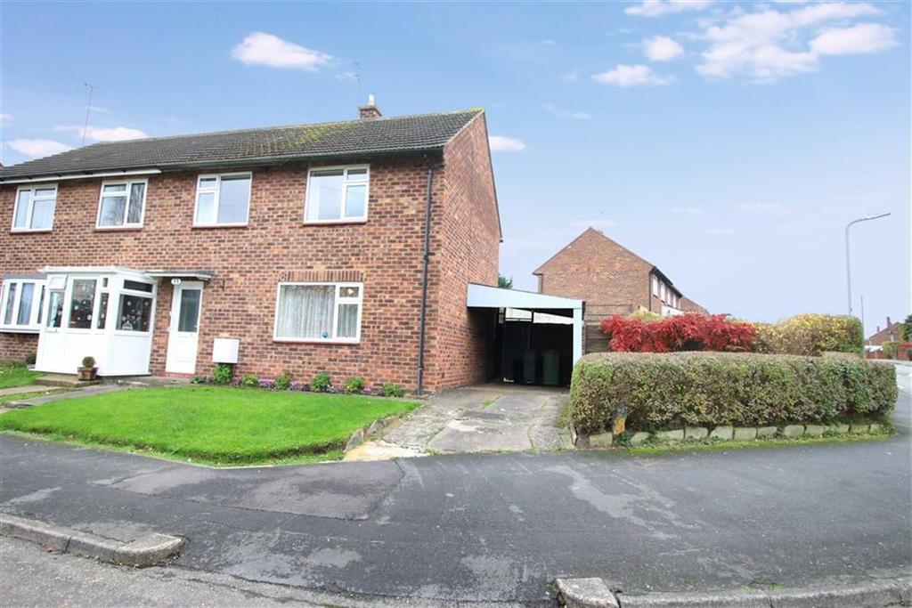 3 Bedrooms Semi Detached House for sale in Haddon Road, Lillington, Leamington Spa, CV32