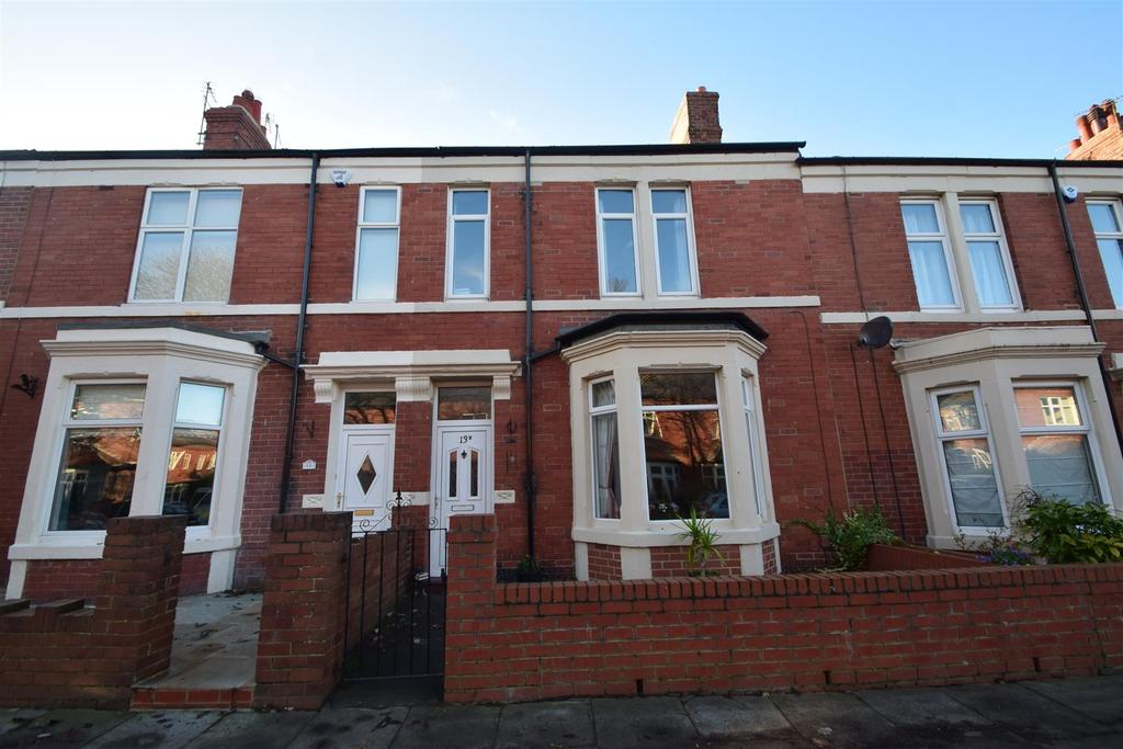 3 Bedrooms Terraced House for sale in Bideford Gardens, Whitley Bay