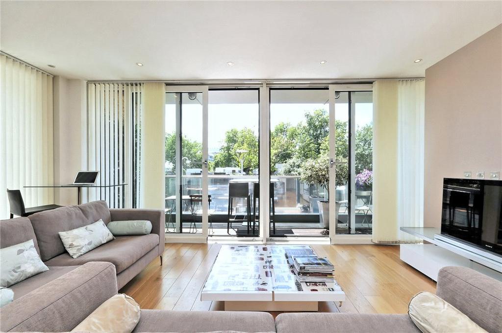 2 Bedrooms Flat for sale in Hirst Court, Grosvenor Waterside, London, SW1W
