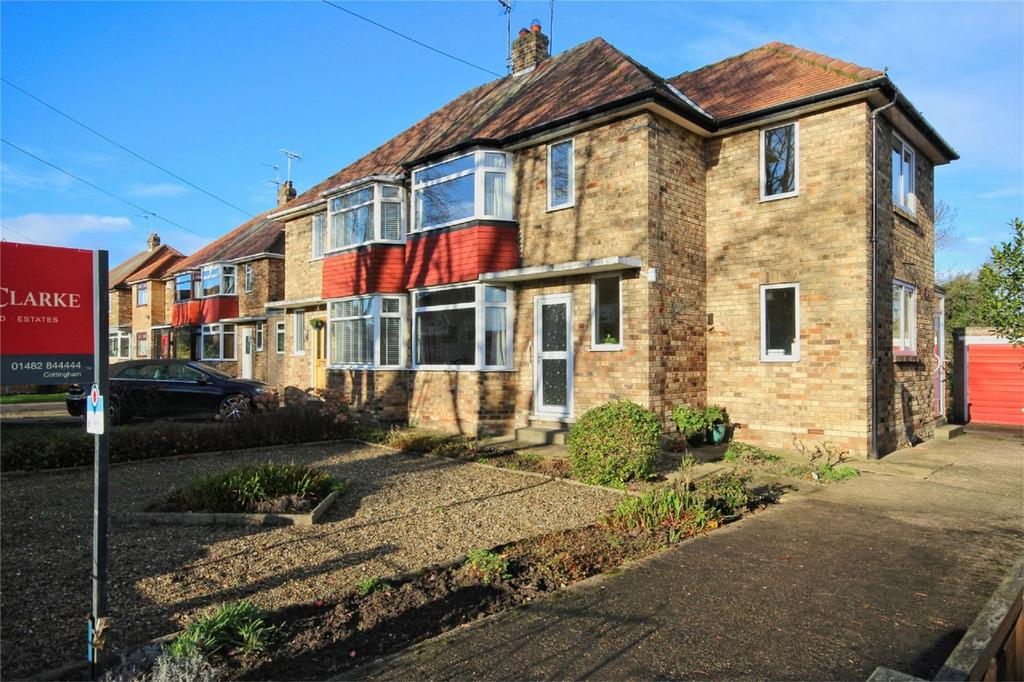 3 Bedrooms Semi Detached House for sale in St Margarets Close, Cottingham, East Riding of Yorkshire