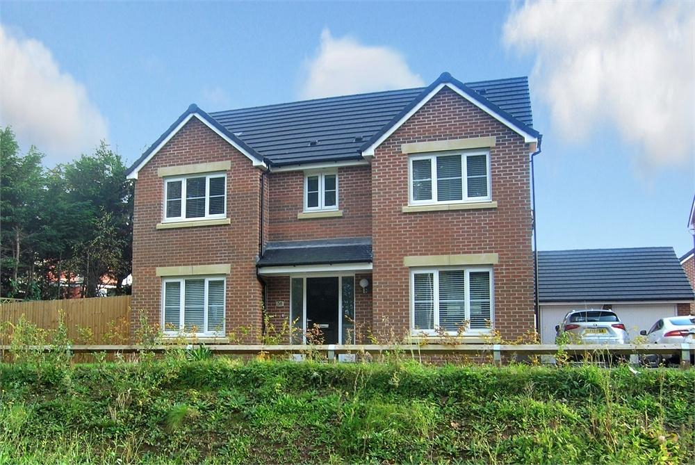 4 Bedrooms Detached House for sale in Welsh Oak Way, Rogerstone, Newport