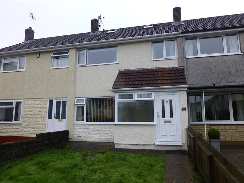 4 Bedrooms Semi Detached House for rent in St. Christophers Drive, Caerphilly