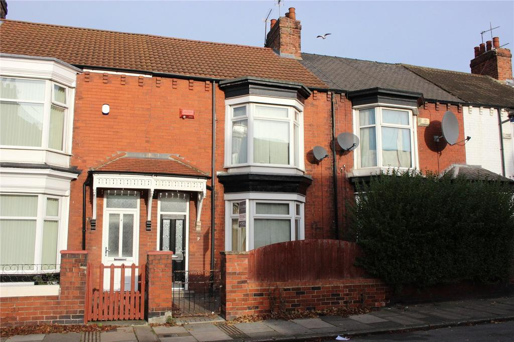 3 Bedrooms End Of Terrace House for sale in Egmont Road, Middlesbrough