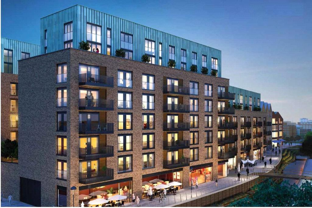 2 Bedrooms Flat for sale in Wandle Gardens, Ram Quarter, London, SW18