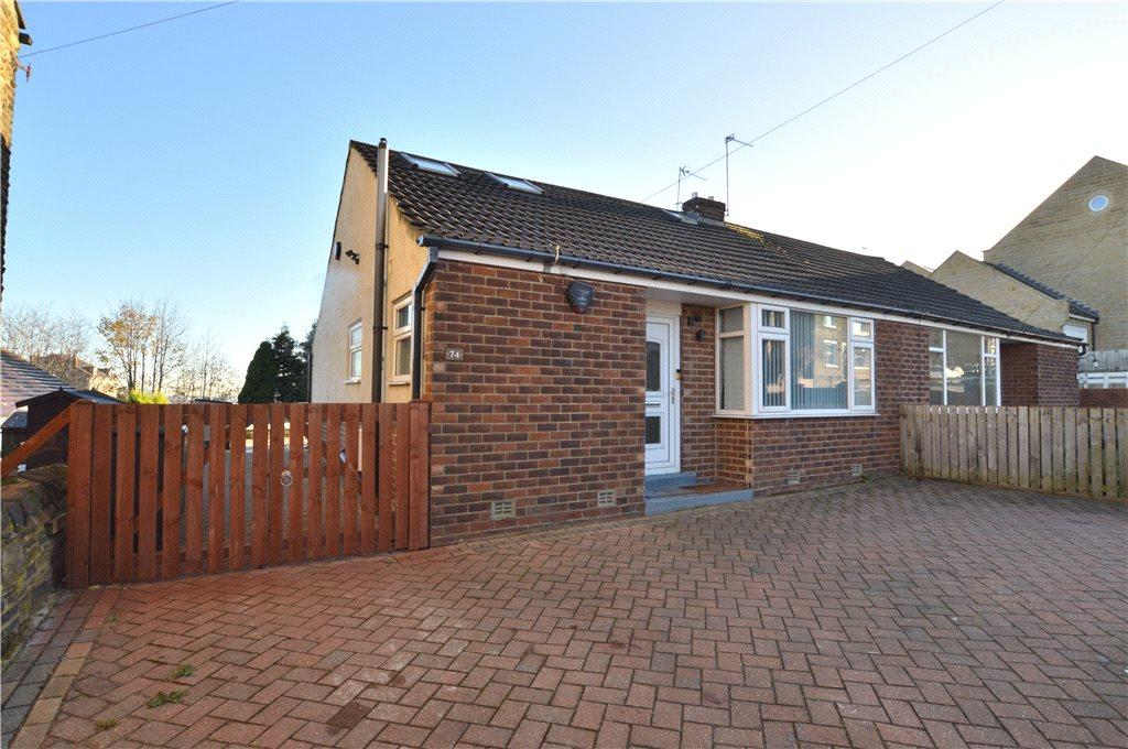 2 Bedrooms Semi Detached Bungalow for sale in Greenside, Pudsey, West Yorkshire