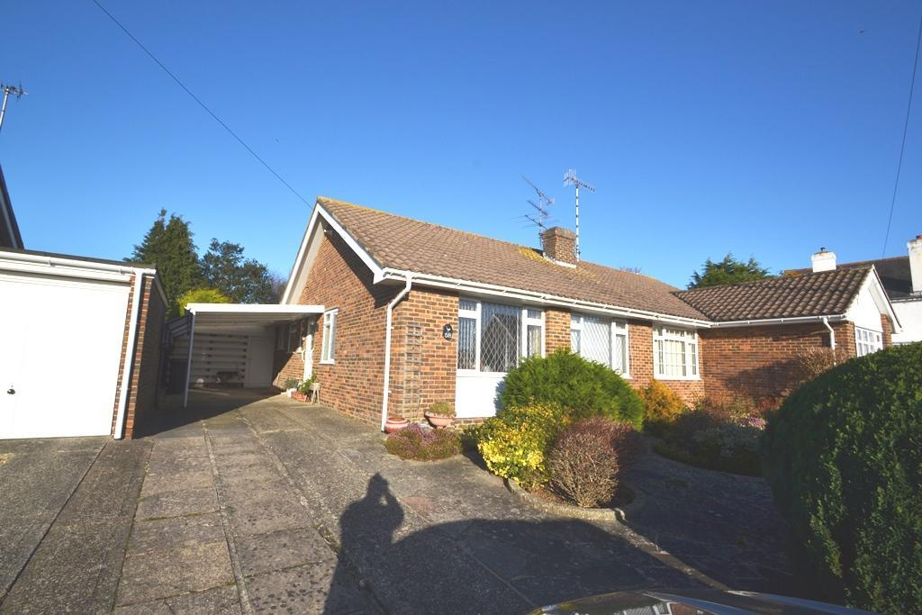 2 Bedrooms Semi Detached Bungalow for sale in New Road, Worthing, West Sussex, BN13 3JJ