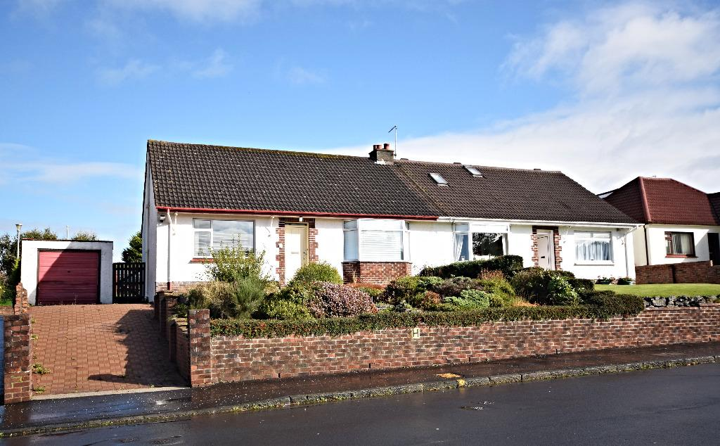 3 Bedrooms Semi Detached Bungalow for sale in Taybank Drive, Ayr, South Ayrshire, KA7 4RL