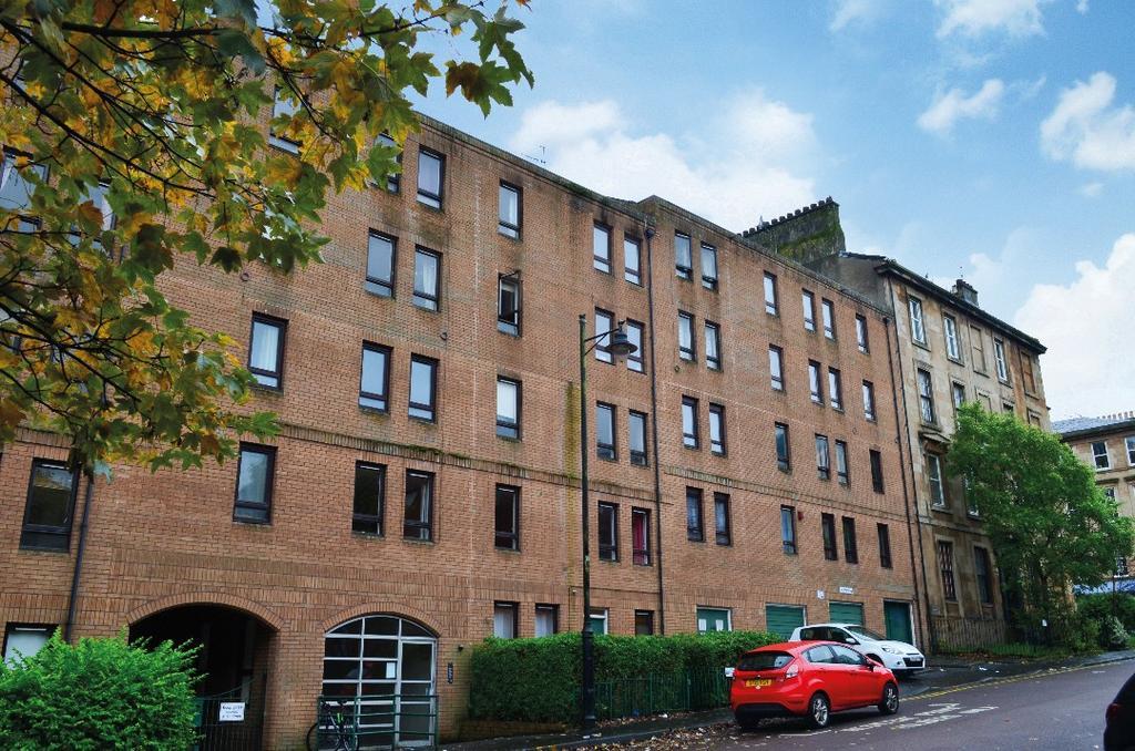 1 Bedroom Flat for sale in Buccleuch Street, Garnethill, Glasgow, G3 6SJ