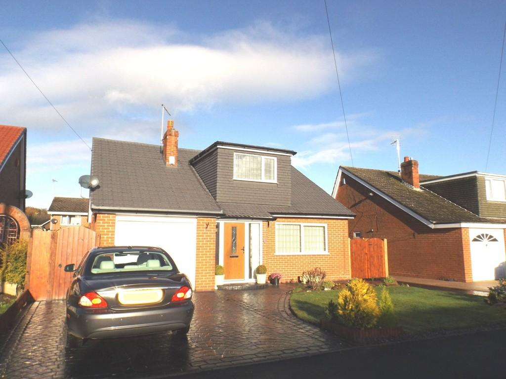 3 Bedrooms Detached Bungalow for sale in Lear Drive, Wistaston