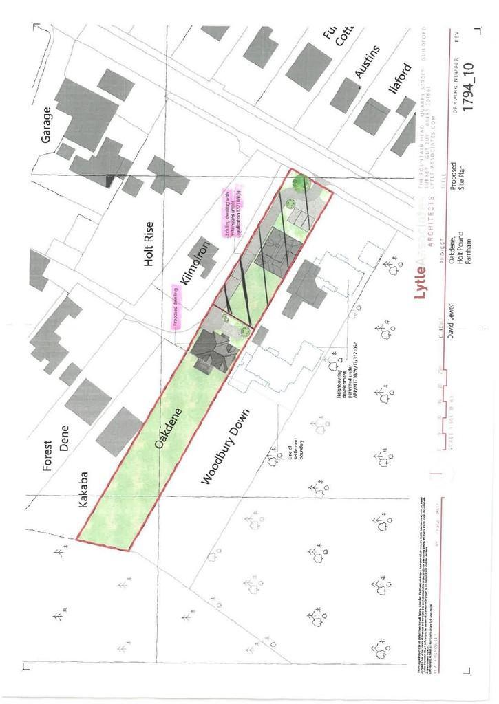 Land Commercial for sale in Farnham Road, Holt Pound