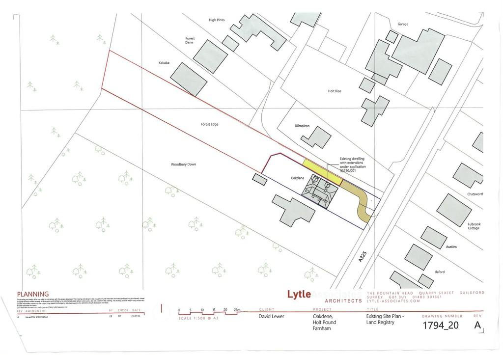 Land Commercial for sale in Farnham Road, Holt Pound