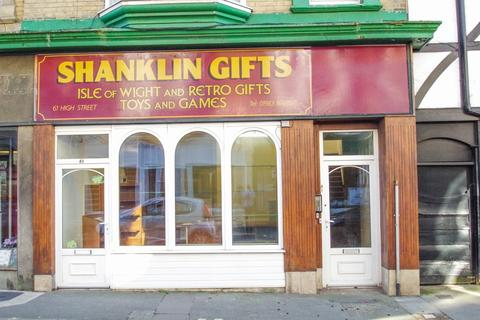 Retail property (high street) to rent - Shanklin, Isle of Wight