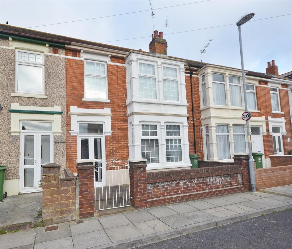 3 Bedrooms Terraced House for sale in Algiers Road, Baffins, Portsmouth